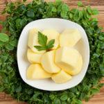 Kartoffeln klein geschält